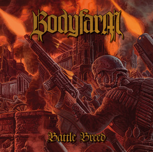 BODYFARM Battle Breed CD Cover (c)PR