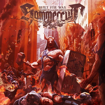 HAMMERCULT - Built Of War-Cover (c) Steamhammer Records