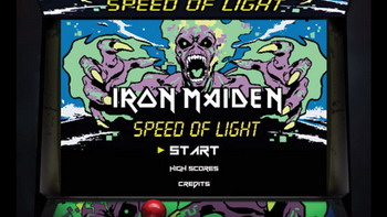 IRON MAIDEN - Speed Of Light-Videogame (c) ironmaiden.com