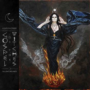 KARYN CRISIS Gospel Of The witches Cd Cover (c)PR