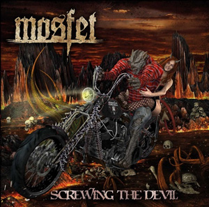 MOSFET Screwing the devil CD Cover (c)PR