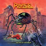 RAVAGE The End of tomorrow CD Cover  (c)Metal Blade