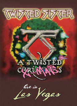 twisted sister a twisted xmas dvd cover c eagle rock. Black Bedroom Furniture Sets. Home Design Ideas