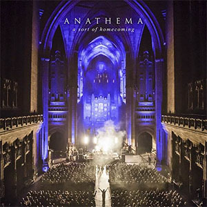 "ANATHEMA ""A Sort  Of  Homecoming"" CD Cover  (c)PR"