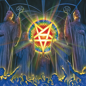 ANTHRAX For All Kings CD Cover (c)PR