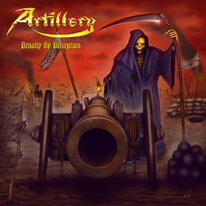 ARTLLERY CD Cover (c)PR Penalty by Perception