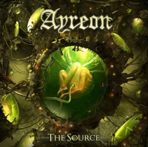 AYREON THe Source cD Cover (c)PR
