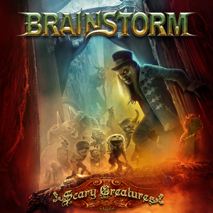 BRAINSTORM SCary Creatures CD Cover (c)PR