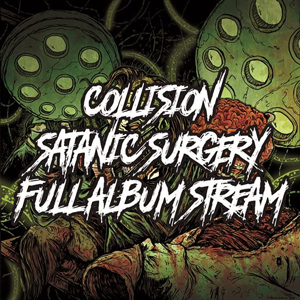 COLLISION satanic surgery CD Cover (c)PR