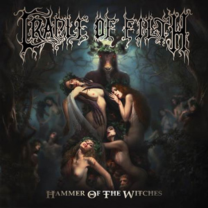 CRADLE OF FILTH Hammer Of The Witches CD Cover (c)PR