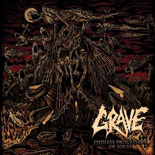 "GRAVE ""Endless Procession Of Souls"" CD Cover (c)PR"