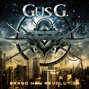 GUS G: Brand New Revolution CD cover (c)PR