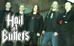 HAIL OF BULLETS Bandfoto (c) Metal Blade