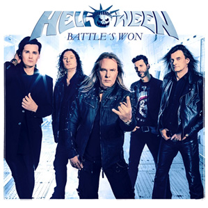 HELLOWEEN Battle´s Won CD Cover (c)PR