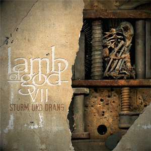 LAMB OF GOD Sturm & Dranf Cd Cover (c)PR