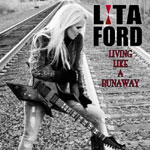 LITA FORD Living like a runawy CD Cover (c)PR