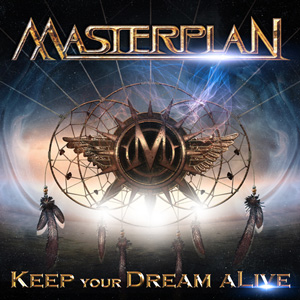 MASTERPLAN Keep Your Dream Alive DVD Cover (c)PR