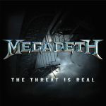 MEGADETH The Threat Is Real CD Cover (c)PR