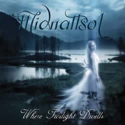 Das Cover-Artwork von Where Twilight Dwells von MIDNATTSOL