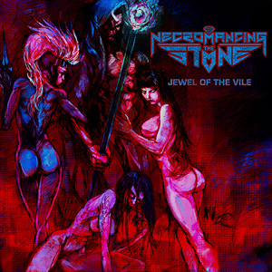 Necromancing The Stone  Jewel Of The Vile  CDcOver (c)PR