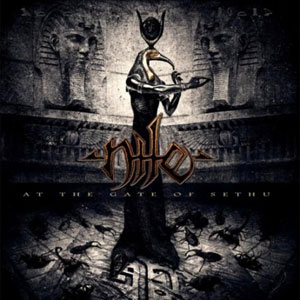 NILE At The Gate Of Sethu CD Cover (c)PR