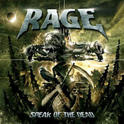 Rage Albumcover Speak of the dead