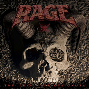 RAGE The Devil strikes again Cd Cover (c)PR