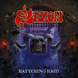 SAXON battering Ram CD Cover (c)PR
