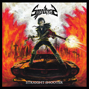 SPEEDTRAP Straight Shooter CD Cover (c)PR
