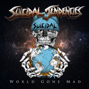 SUICIDAL TENDENCIES world gone Mad CD Cover (c)PR