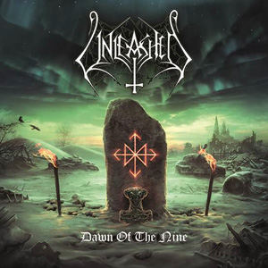 UNLEASHED Dawn Of The Nine CD cover (c)PR