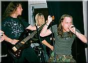 RECKLESS TIDE live beim Banging The X-Mas Tree 2003
