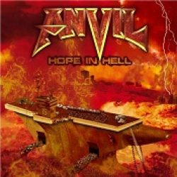 ANVIL: Cover & Tracklist von ´Hope In Hell´