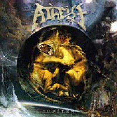 ATHEIST: Cover & Tracklist vom neuen Album ´ Jupiter´