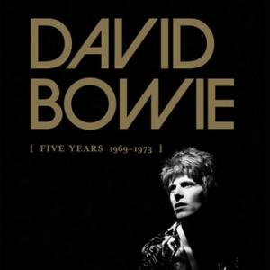 DAVID BOWIE: Five Years (1969-1973) [CD-Box]