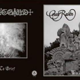 """GRIFTEGARD/COUNT RAVEN: Split-EP [7""""Vinyl]"""