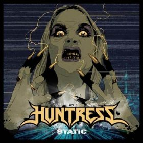 "HUNTRESS: kündigen neues Album ""Static"" an"