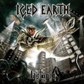 ICED EARTH: Cover & Tracklist von ´Dystopia´