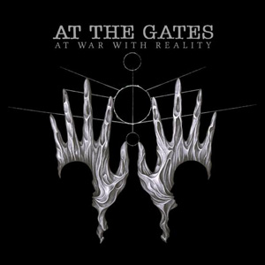 "AT THE GATES: Cover & Songtitel von ""At War With Reality"""