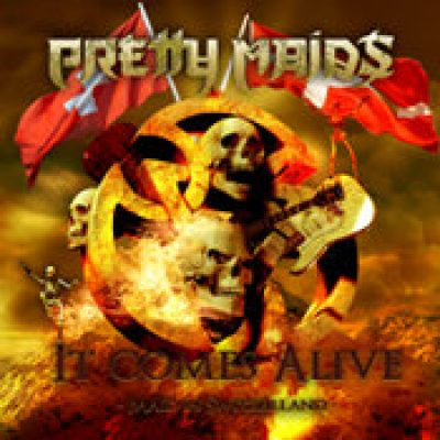 PRETTY MAIDS: It Comes Alive – Maid In Switzerland [2CD+DVD]