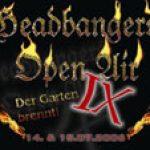 HEADBANGERS OPEN AIR: erste Bands