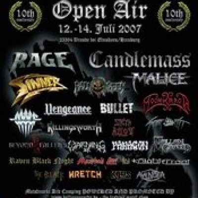 HEADBANGERS OPEN AIR: Band-Battle am Freitag dem 13.