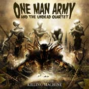 ONE MAN ARMY AND THE UNDEAD QUARTET: Debüt kommt im Januar