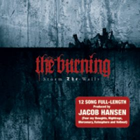 THE BURNING: Album `Storm the Walls` im Dezember