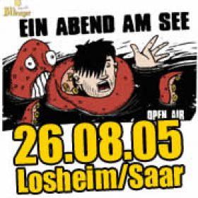 EIN ABEND AM SEE 2005: Feiert mit DIE TOTEN HOSEN und SOCIAL DISTORTION