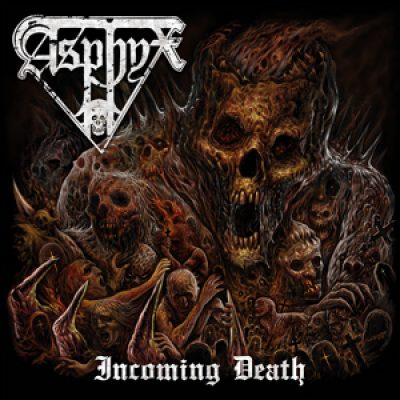 "ASPHYX: Cover & Tracklist von ""Incoming Death"""