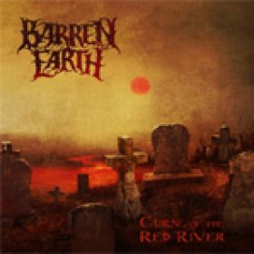 BARREN EARTH: Cover & Tracklist von ´Curse Of The Red River´