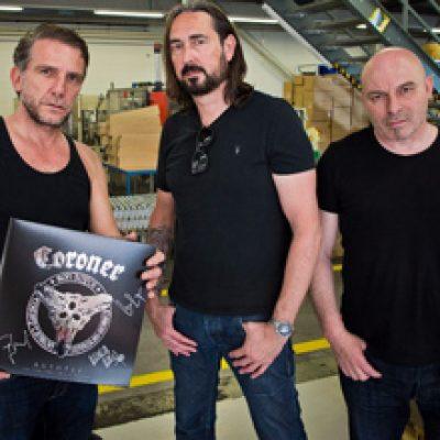 CORONER: neues Studioalbum nach 23 Jahren & Live-DVD