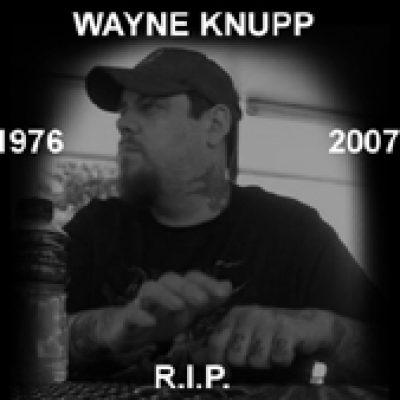 DEVOURMENT: Wayne Knupp ist tot