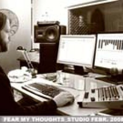 FEAR MY THOUGHTS: im Studio